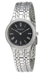ROMANSON LADIES DIAMOND WATCH EM4252KL1WA32W