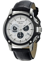 ROMANSON Men&#39s Chronograph watch PL2627HM1DAS2W