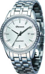Romanson Men&#39s watches diamond PM0327KM1WA12W
