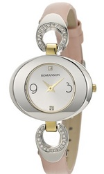 LADIES Leather watches RN0391CL1CAS1G ROMANSON