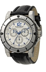 Men&#39s Chronograph watch TL1248HM1WAS3U Romanson