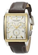 Men&#39s Chronograph watch TL3249HM1CAS1G Romanson