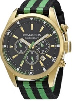 Romanson Men&#39s Watch TL4246HM1GA31Green