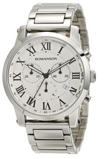 Men&#39s Chronograph watch ROMANSON TM0334HM1WB15B