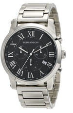 Men&#39s Chronograph watch ROMANSON TM0334HM1WB37B